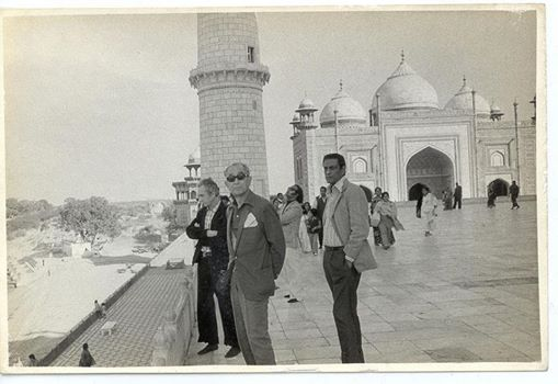 Antonioni, Kurosawa, and Ray at the Taj Majal